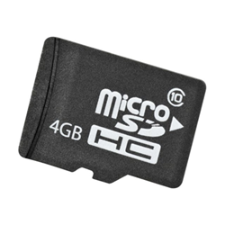 Scheda di memoria Hewlett Packard Enterprise - Hp 4gb micro sdhc flash media