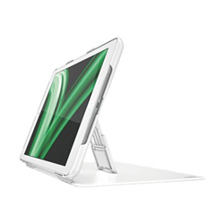 Coque Leitz - Étui protection à rabat pour tablette - Soie - blanc - pour Apple iPad Air