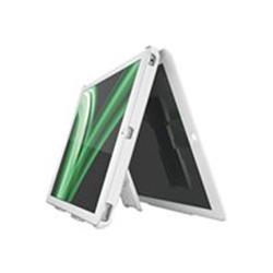 Coque Leitz Complete Multi-Case - Coque de protection pour tablette - plastique ABS, microfibre - blanc - pour Apple iPad Air