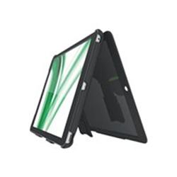 Coque Leitz Complete Multi-Case - Coque de protection pour tablette - plastique ABS, microfibre - noir - pour Apple iPad Air