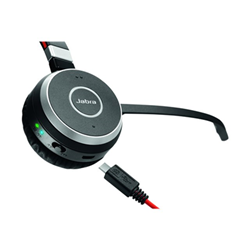 Jabra Evolve 65 MS stereo - Casque - sur-oreille - sans fil - Bluetooth - avec Jabra LINK 360 Adapter