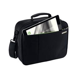 Sacoche Leitz - Sacoche pour imprimante - noir avec des touches vertes