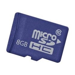 Scheda di memoria Hewlett Packard Enterprise - Hp 8gb micro sd em flash media kit