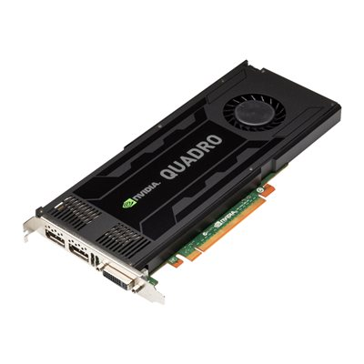 Hewlett Packard Enterprise - NVIDIA QUADRO K4000 PCIE GRAPHICS