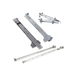 Dell 2/4-Post Static Rack Rails for 1U and 2U systems - Kit de rails pour armoire - pour PowerEdge R220, R230