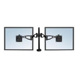 Professional series depth adjustable dual monitor...