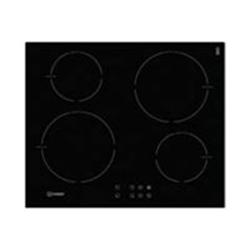 Plan de cuisson Indesit VIB 644 C E - Table de cuisson à induction - 4 plaques de cuisson - Niche - largeur : 56 cm - profondeur : 49 cm