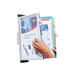 Porte-brochures Nobo Pivodex - Panneau d'affichage - couleurs assorties (pack de 10)