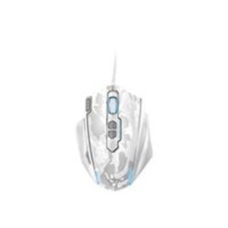Mouse Trust - Gxt 155w gaming mouse - white camouflage