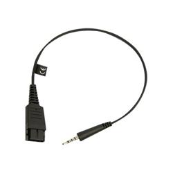 Jabra - Prise de casque micro - jack mini (M) pour Déconnexion rapide (M) - pour SPEAK 410, 410 MS