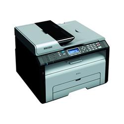 Imprimante laser multifonction Ricoh SP 211SF - Imprimante multifonctions - Noir et blanc - laser - A4 (210 x 297 mm) (original) - A4 (support) - jusqu'à 22 ppm (impression) - 150 feuilles - 33.6 Kbits/s - USB 2.0