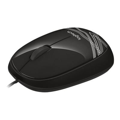 Mouse Logitech - CORDED MOUSE M105 BLACK
