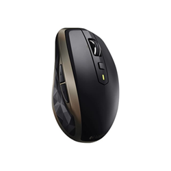 Souris Logitech MX Anywhere 2 - Souris - laser - 6 boutons - sans fil - Bluetooth, 2.4 GHz - récepteur sans fil USB - pierre