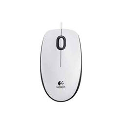 Mouse M100 - mouse - usb - bianco 910-005004