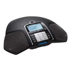 Téléphone fixe Konftel 300Mx - Téléphone de conférence mobile - 3G - SD slot - GSM - 128 x 64 pixels - Noir réglisse