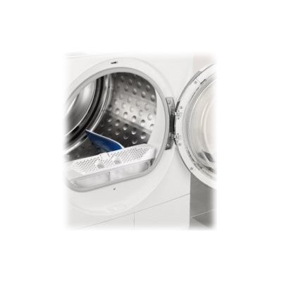 Sèche-linge HP - LCD - INVERTER - LANA WOOLMARK BLUE - SETA - CESTO INOX SOFT DRUMXXL  - LUCE LED - OBLÒ PULL2OPEN XXL TRASP. SILVER - ASSORB. 0 90KW -