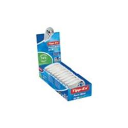 Tipp-Ex ecolutions Pure Mini - Rouleau correcteur - 5 mm x 6 m - plastique, film polyester - étui bleu transparent, pierre (pack de 10)