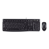 Kit tastiera mouse Logitech - Logitech desktop mk120 - set mouse