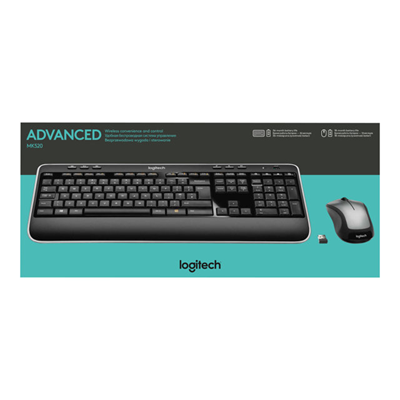 Logitech - WIRELESS COMBO MK520