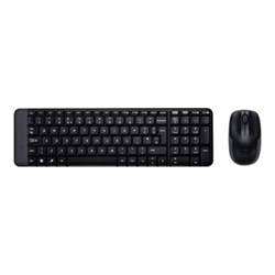 Kit tastiera mouse Logitech - Logitech wireless combo mk220 - set