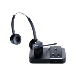 Jabra PRO 9450 Duo - Casque - convertible - sans fil - DECT - Suppresseur de bruit actif