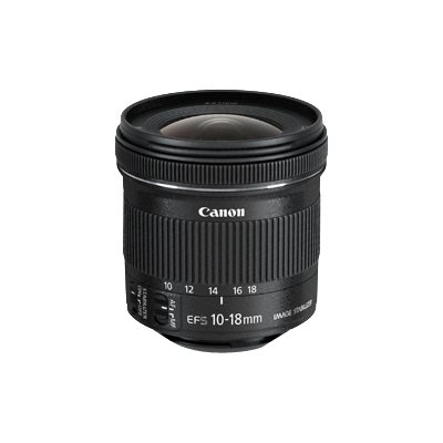 Canon - EF-S 10-18MM F/4 5-5.6 IS STM