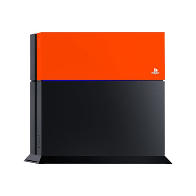 Sony - PS4 COVER PERSONALIZZATE NEON ORANG