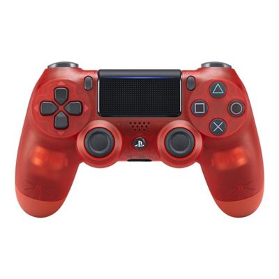 Sony - =>>PS4 DUALSHOCK CONT RED CRYSTAL