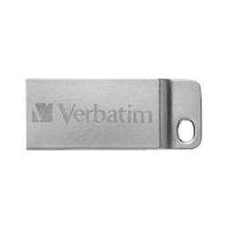 Clé USB Verbatim Metal Executive - Clé USB - 64 Go - USB - argenté(e)