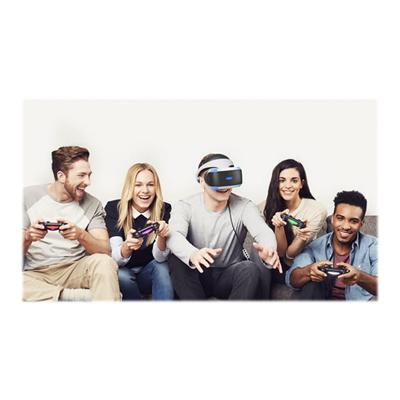 Sony - PS VR + CAMERA + VR WORLDS +GTSPORT