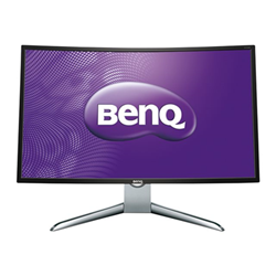 "Écran LED BenQ EX3200R - Écran LED - incurvé - 31.5"" - 1920 x 1080 Full HD (1080p) - VA - 300 cd/m² - 1000:1 - 4 ms - HDMI, DisplayPort, Mini DisplayPort - gris"