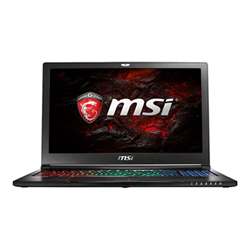 Notebook MSI - Gs63vr 6rf stealth pro 4k