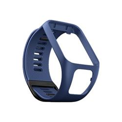 TomTom - L - bracelet de montre - bleu foncé - pour TomTom Spark 3, Spark 3 Cardio, Spark 3 Cardio + Music, Spark 3 Music + Headphones
