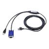 Commutateur KVM Dell - Dell - Câble clavier / vidéo /...
