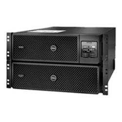 Dell Smart-UPS SRT 8000VA RM - Onduleur (rack-montable) - CA 230/400 V - 8000 VA - triphasé - Ethernet 10/100, RS-232, USB - 6U