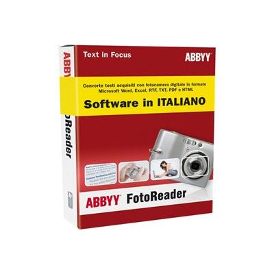 Software Avanquest - ABBYY FOTOREADER