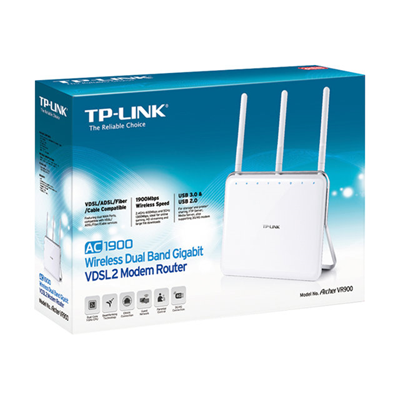 TP-LINK - MODEM ROUTER WIRELESS VDSL2 AC1900