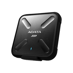 Hard disk interno ADATA - Adata sd700 portable 256gb black