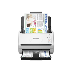 Scanner Epson WorkForce DS-530 - Scanner de documents - Recto-verso - A4 - 600 ppp x 600 ppp - jusqu'à 35 ppm (mono) / jusqu'à 35 ppm (couleur) - Chargeur automatique de documents (50 feuilles) - jusqu'à 4000 pages par jour - USB 3.0