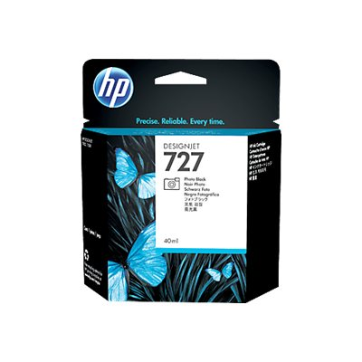 HP - =>>HP 727 40-ML PHOTO BLACK INK CAR