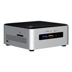 Kit pc à monter Intel Next Unit of Computing Kit NUC6i3SYH - Barebone - mini ordinateur de bureau - 1 x Core i3 6100U / 2.3 GHz - HD Graphics 520 - GigE - LAN sans fil: 802.11a/b/g/n/ac, Bluetooth 4.1
