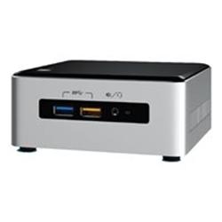 Kit pc à monter Intel Next Unit of Computing Kit NUC6i5SYH - Barebone - mini ordinateur de bureau - 1 x Core i5 6260U / 1.8 GHz - Iris Graphics 540 - GigE - LAN sans fil: 802.11a/b/g/n/ac, Bluetooth 4.1