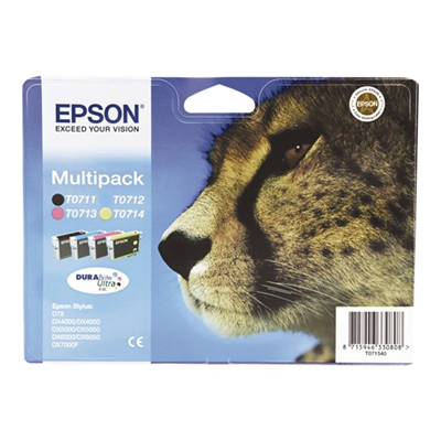 Epson - MULTIPACK (T071) 4 COLORI STYD78