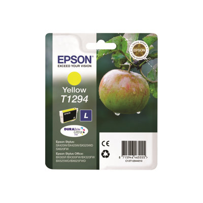 Epson - CARTUCCIA INCH.GIALLO TG.L MELA