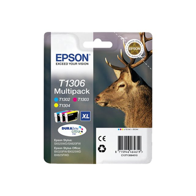 Epson - MULTIPACK T130 3CART. CERVO TG.XL