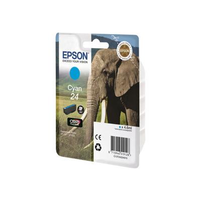 Epson - CARTUCCIA CIANO SERIE 24 ELEFANTE