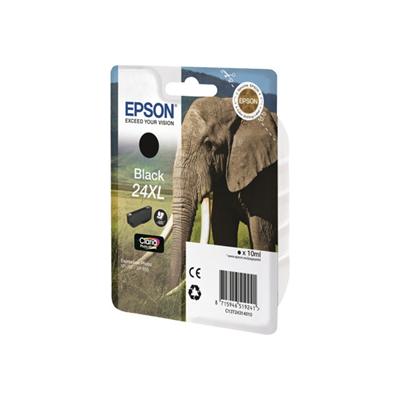Epson - CARTUCCIA NERA SERIA 24XL ELEFANTE