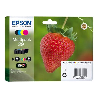 Epson - MULTIPACK 29 FRAGOLA CONF.4CARTUCCE