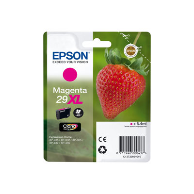 Epson - CARTUCCIA MAGENTA FRAGOLA T29XL