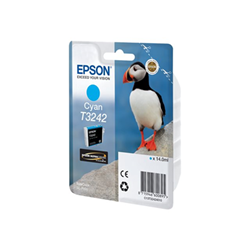 Epson - Cart.inch ciano puffin 14ml